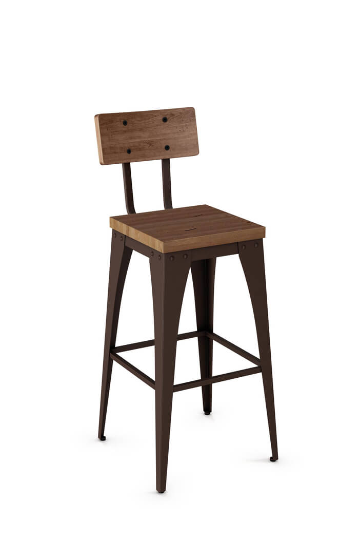 bar furniture seat facil set bistro vintage stool metal with wood antique lovable of white