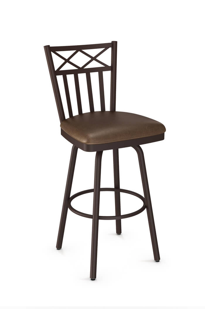 Amisco Wellington Swivel Stool for Traditional Kitchens
