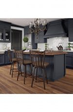 Amisco Wellington Swivel Stool in Timeless Kitchen