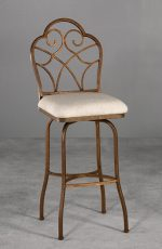 Anderson Swivel Counter or Bar Stool by Wesley Allen