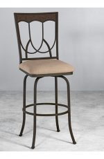 Austin Swivel Stool by Wesley Allen
