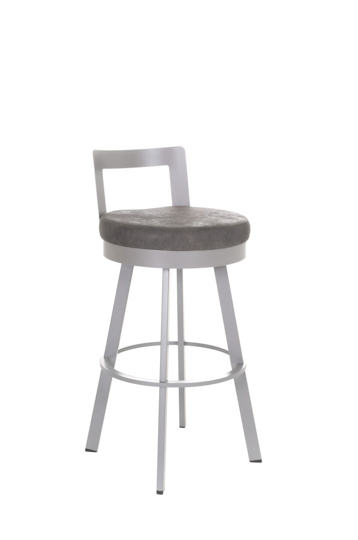 Blake Swivel Stool ...  sc 1 st  Barstool Comforts : contemporary swivel bar stools with back - islam-shia.org