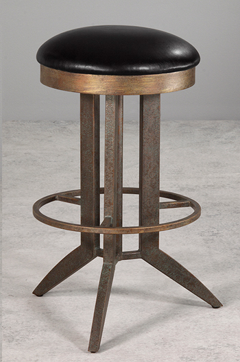 Bolton Backless Swivel Bar Stool