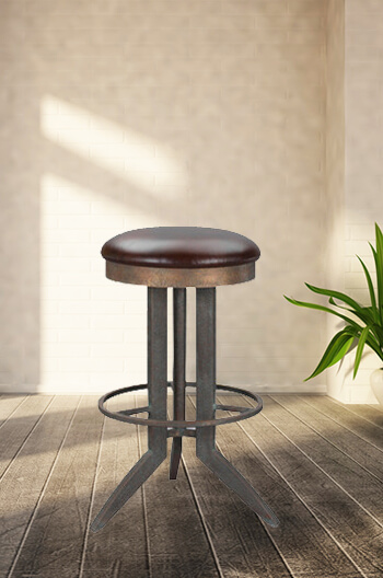 Wesley Allen S Bolton Bar Stool With Swivel Free Shipping