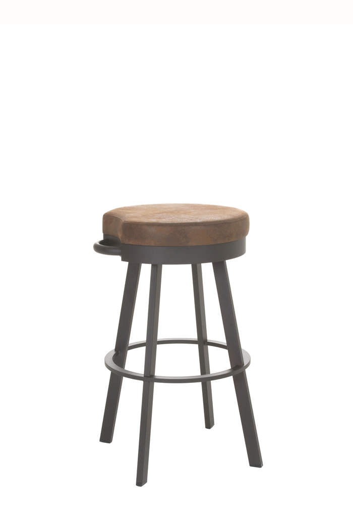 Amisco Bryce Backless Swivel Stool Free Shipping