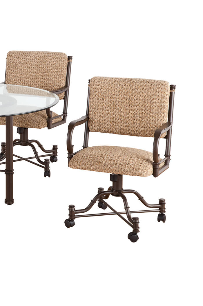 callee burnet swivel dining chairs tilt recline back free