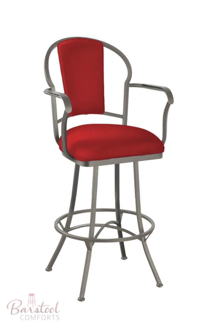 Buy Callee S Charleston Swivel Stool W Upholstered Back