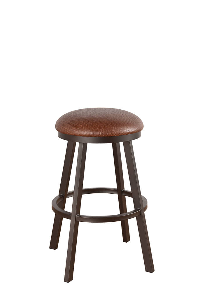 Callee Claremont Backless Swivel Stool Round Seat Free
