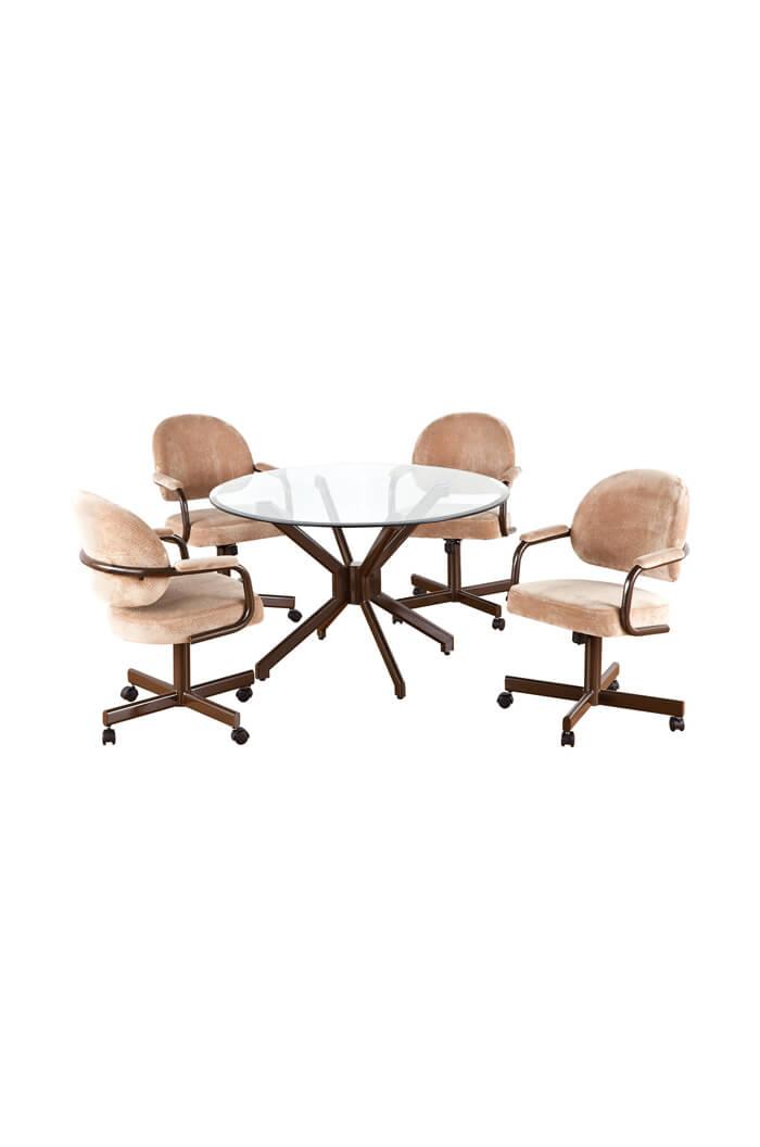 dining chair callee daytona tilt swivel dinette set
