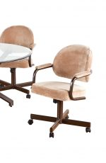 Callee Daytona Tilt Swivel Dining Chair with Arms