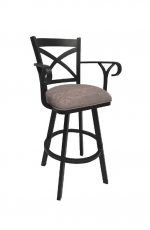 Callee Edison Swivel Bar Stool with Arms
