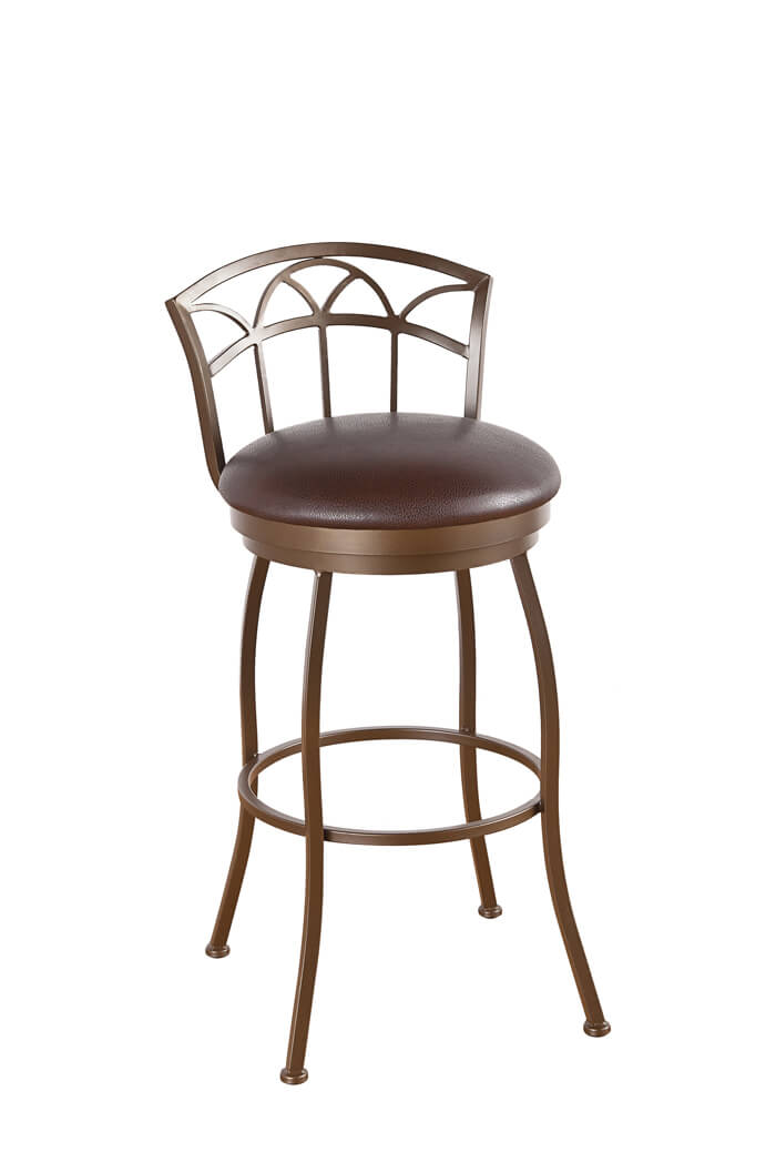 Callee Fairview Swivel Stool with Charming Low Back