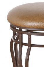 Callee Hayward Backless Swivel Stool with Steel Frame