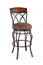 Callee Hayward Swivel Stool for Tuscan Style Kitchens