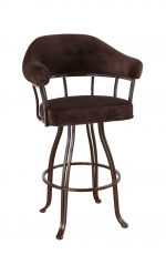 London Swivel Stool with Arms