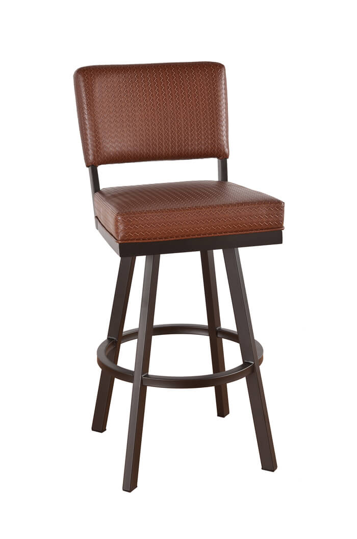 Tremendous Malibu Swivel Stool With Back Uwap Interior Chair Design Uwaporg