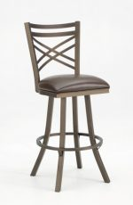 Callee's Rebecca Swivel Stool with Flared Legs