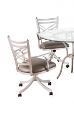 Callee Rochester Tilt Swivel Dining Chairs