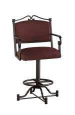 Callee's Seattle Swivel Stool with Arms