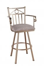 Callee Sevilla Swivel Stool with Arms