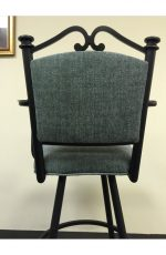Callee Sonoma Swivel Stool with Upholstered Back