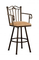 Callee Sunset Swivel Stool with Arms