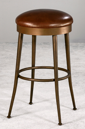 Wesley Allen's Cassia Backless Swivel Stool