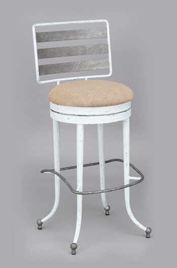 Chester Swivel Counter Barstool For Country Or Eclectic