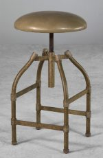 Dodge Backless Swivel Adjustable Stool by Wesley Allen