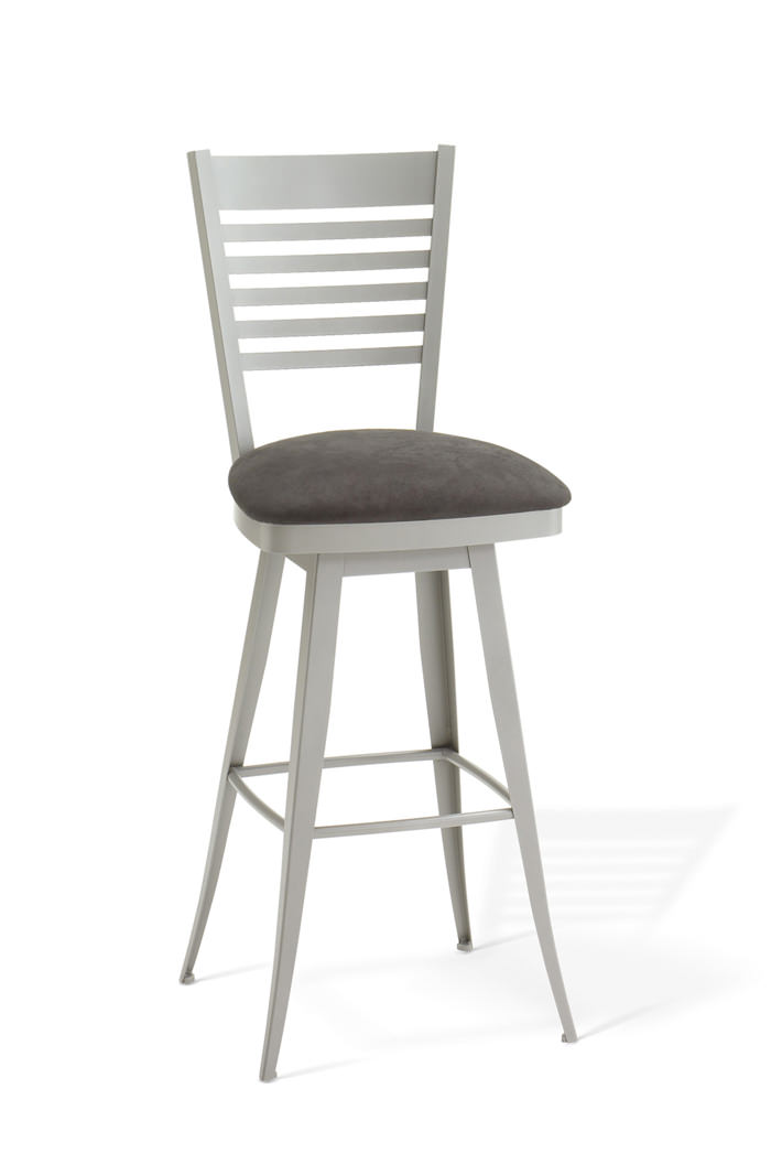 Amisco Edwin Swivel Stool for Modern or Traditional Kitchens