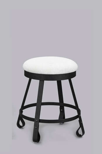 Everton Mediterranean Backless Swivel Counter Stool