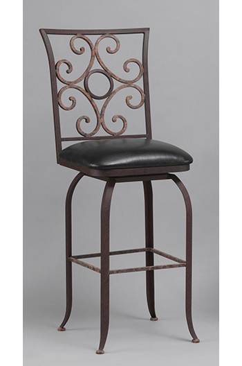 Wesley Allen S Glen Luxury Swivel Counter Or Bar Stool