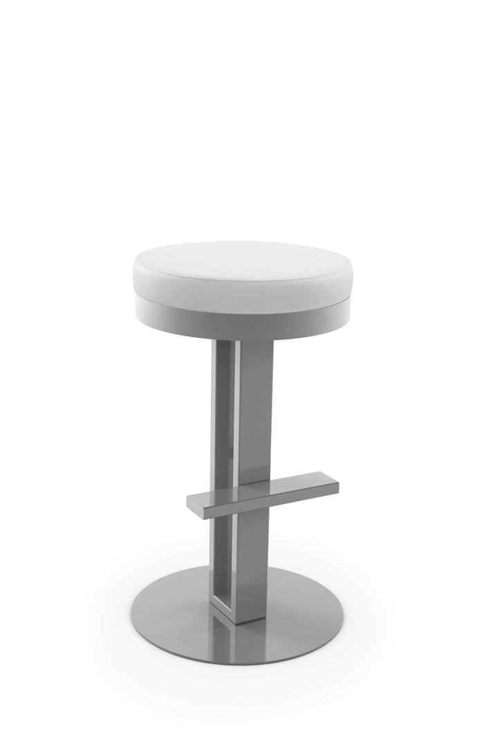 Amisco Glint Backless Modern Stool