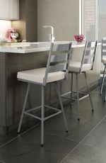Amisco Level Swivel Stool for Contemporary Kitchens