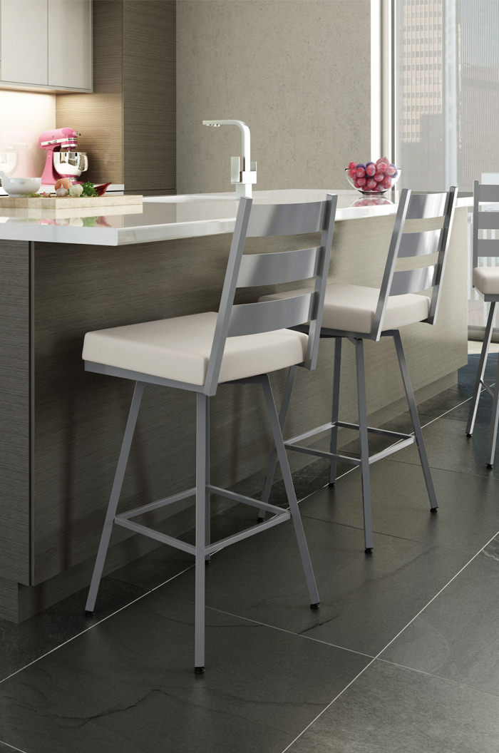 Amisco Level Swivel Stool For Modern Kitchens Free Shipping
