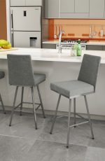 Amisco Linea Swivel Stool in Modern Kitchen