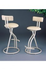 Ultra Modern Swivel Stools by Lisa Furniture