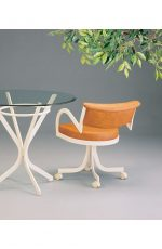 "The ""Boss"" Modern Swivel Dinette Chair by Lisa Furniture"