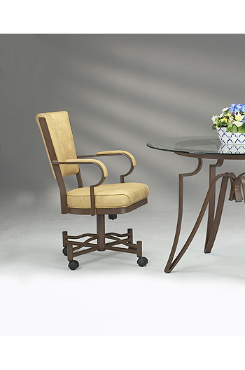 Lisa Furniture 845 Rocking Tilt Swivel Chair W Arms