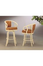 Caroline Swivel Stool #2015 for Traditional Kitchens