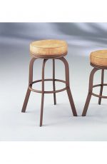 Dudley Backless Swivel Stool #2086 by Lisa Furniture
