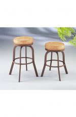 Dudley Backless Swivel Bar or Counter Stool #2086