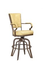 Lisa Furniture #2545 - Rocking Tilt Swivel Bar Stool