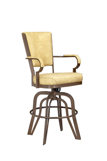 Lisa Furniture 2545 Rocking Swivel Bar Stool Free Shipping