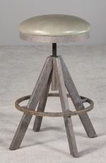 Wesley Allen's Manchester Backless Swivel Adjustable Stool