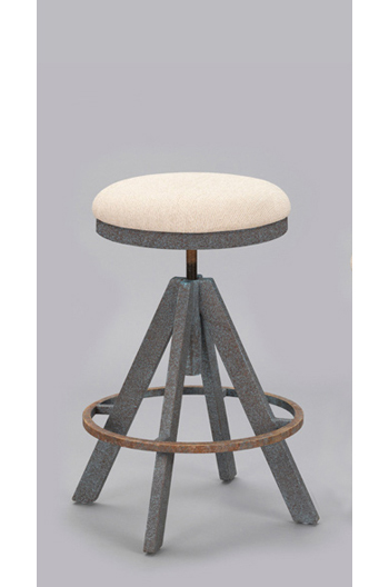 Manchester Unique Tripod Backless Swivel Adjustable Stool
