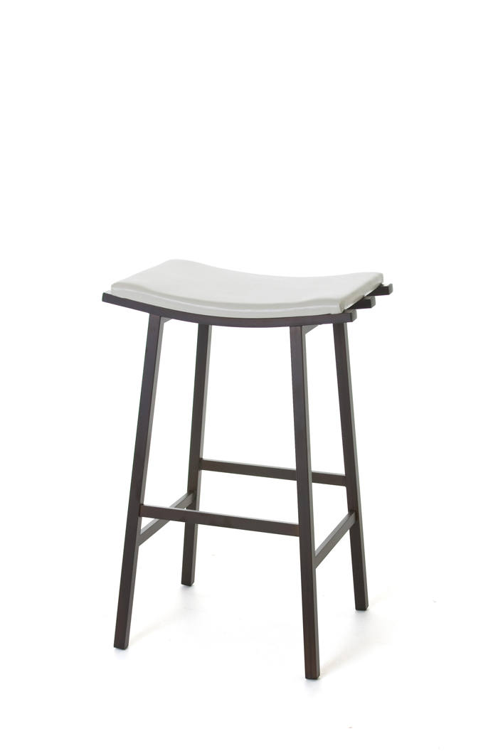 Nathan Stationary Saddle Backless Stool