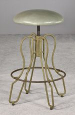 Orlando Backless Adjustable Swivel Stool by Wesley Allen