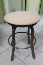 Backless Aluminum Outdoor Stool