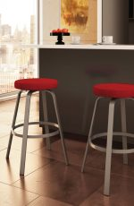 Amisco Reel Swivel Stool in Modern Kitchen